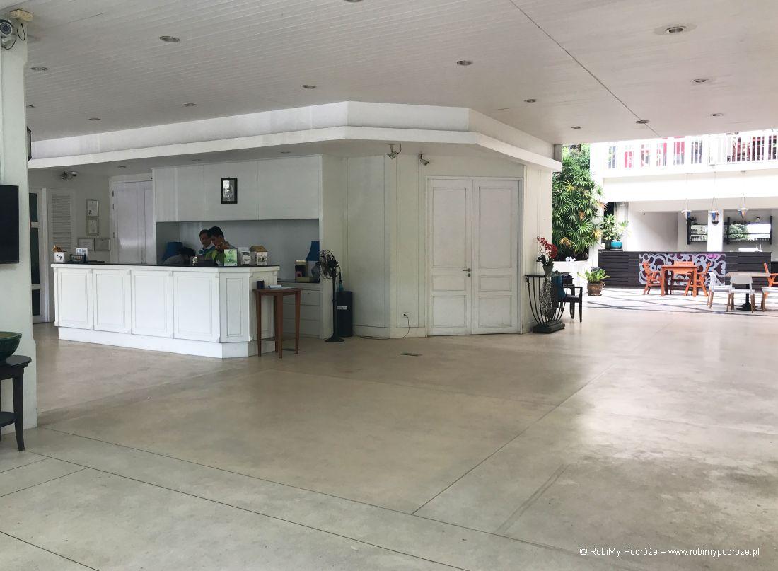 recepcja hotelu Tipa Resort