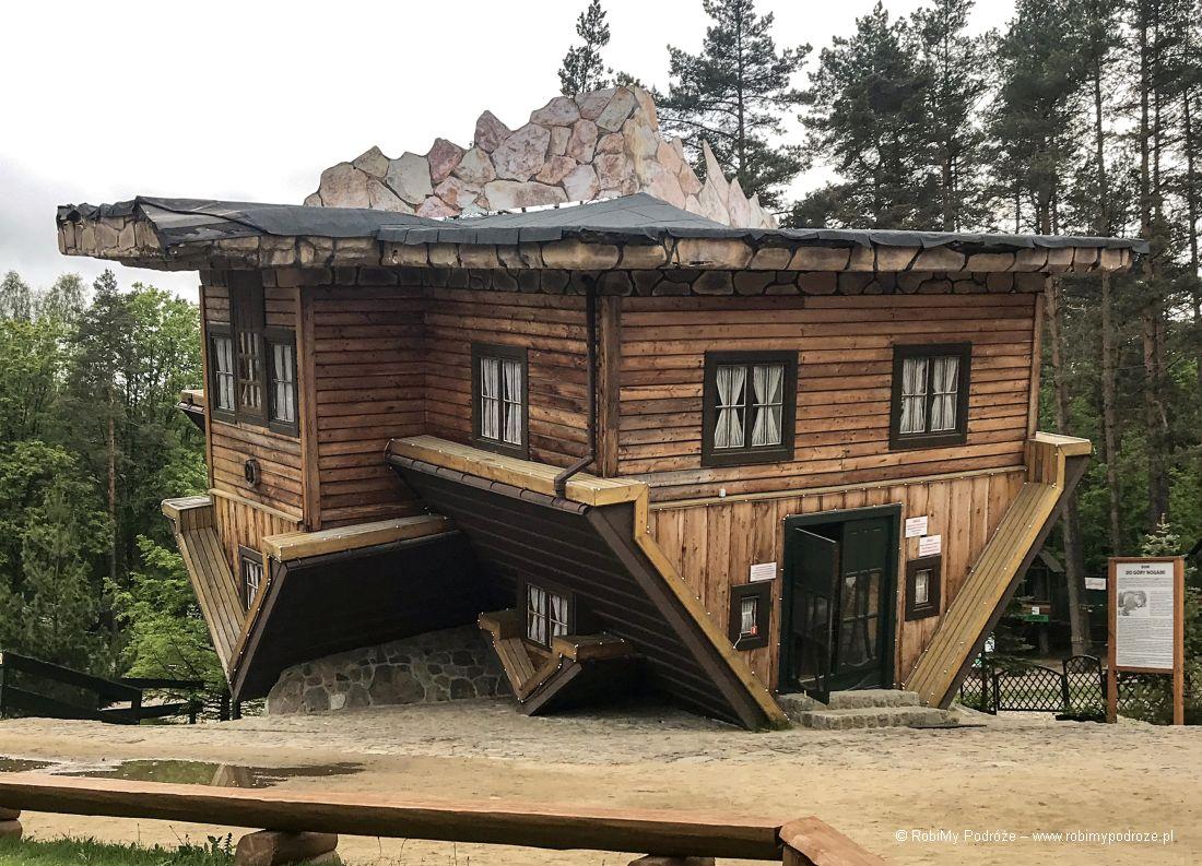 Dom dogóry nogami - atrakcje Szymbarka