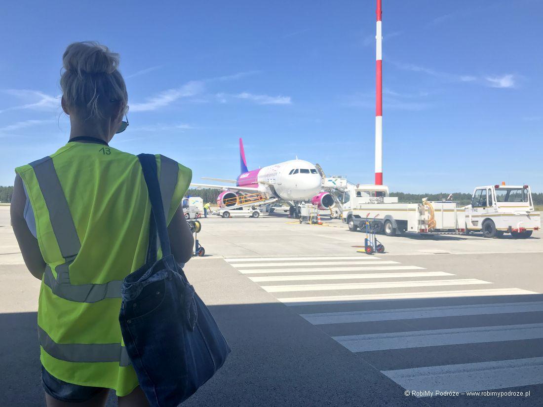 Goha napasie startowym lotniska
