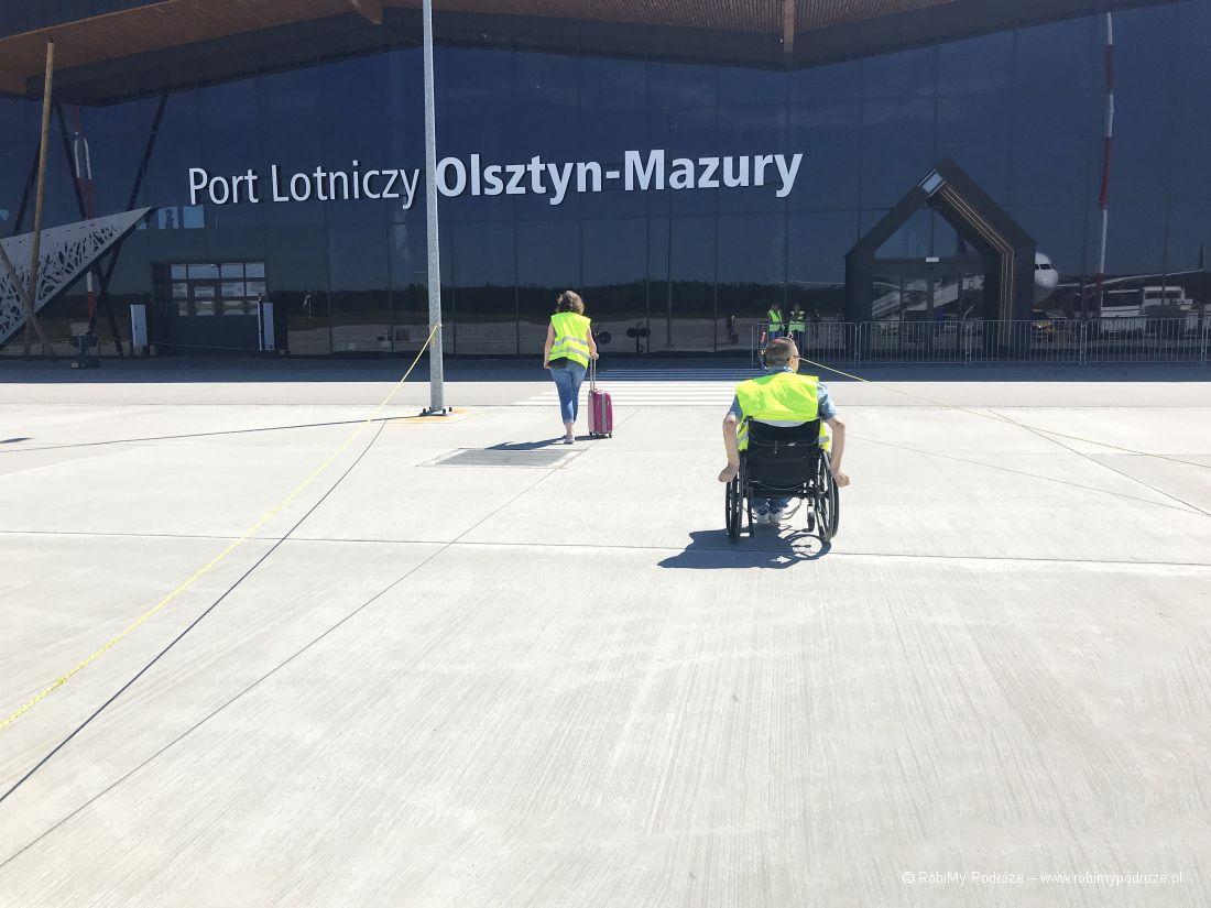 Lotnisko Olsztyn - Mazury - pas startowy