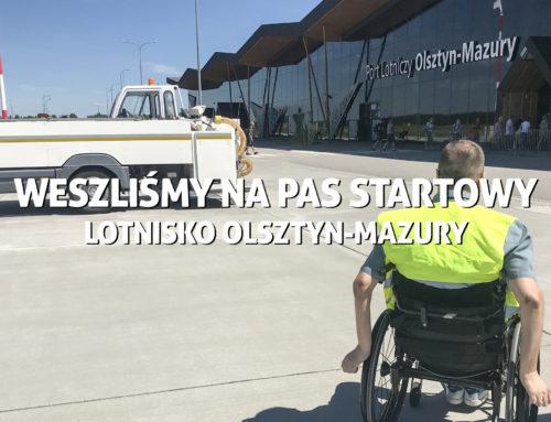 Lotnisko Olsztyn – Mazury. Weszliśmy napas startowy