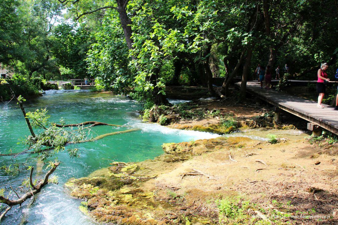 Park Rzeki Krka w Chorwacji