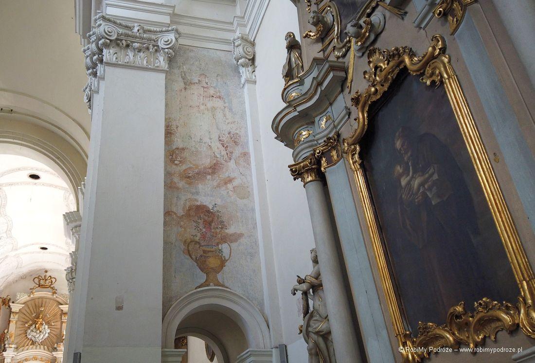 malowidła ścienne klasztoru wPoznaniu
