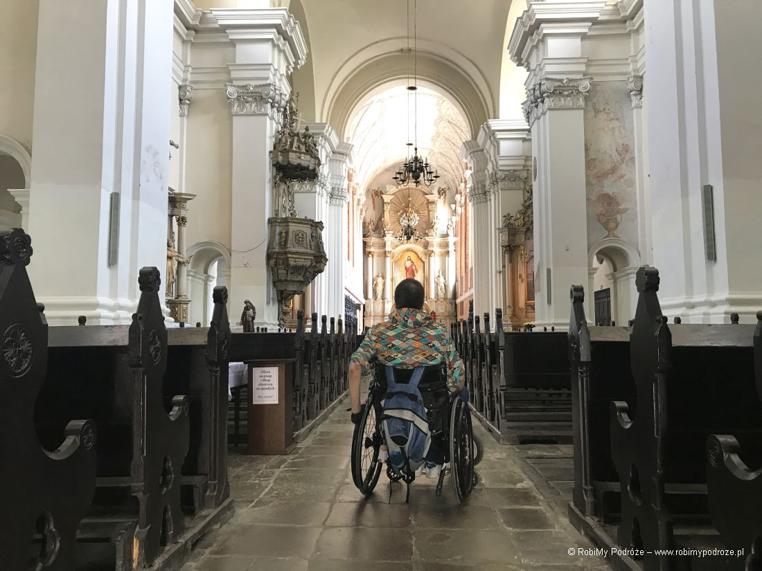 nawa główna klasztoru jezuitów wPoznaniu