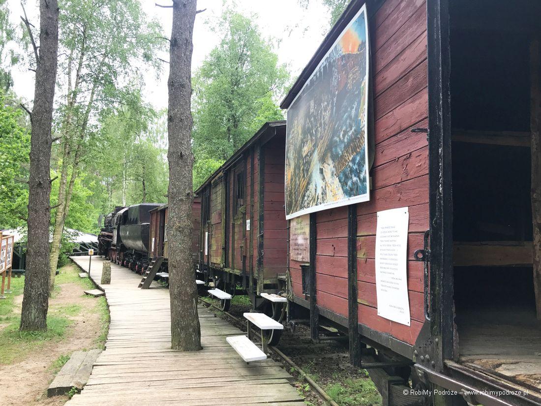 pociąg Sybiraków - atrakcje Szymbarka