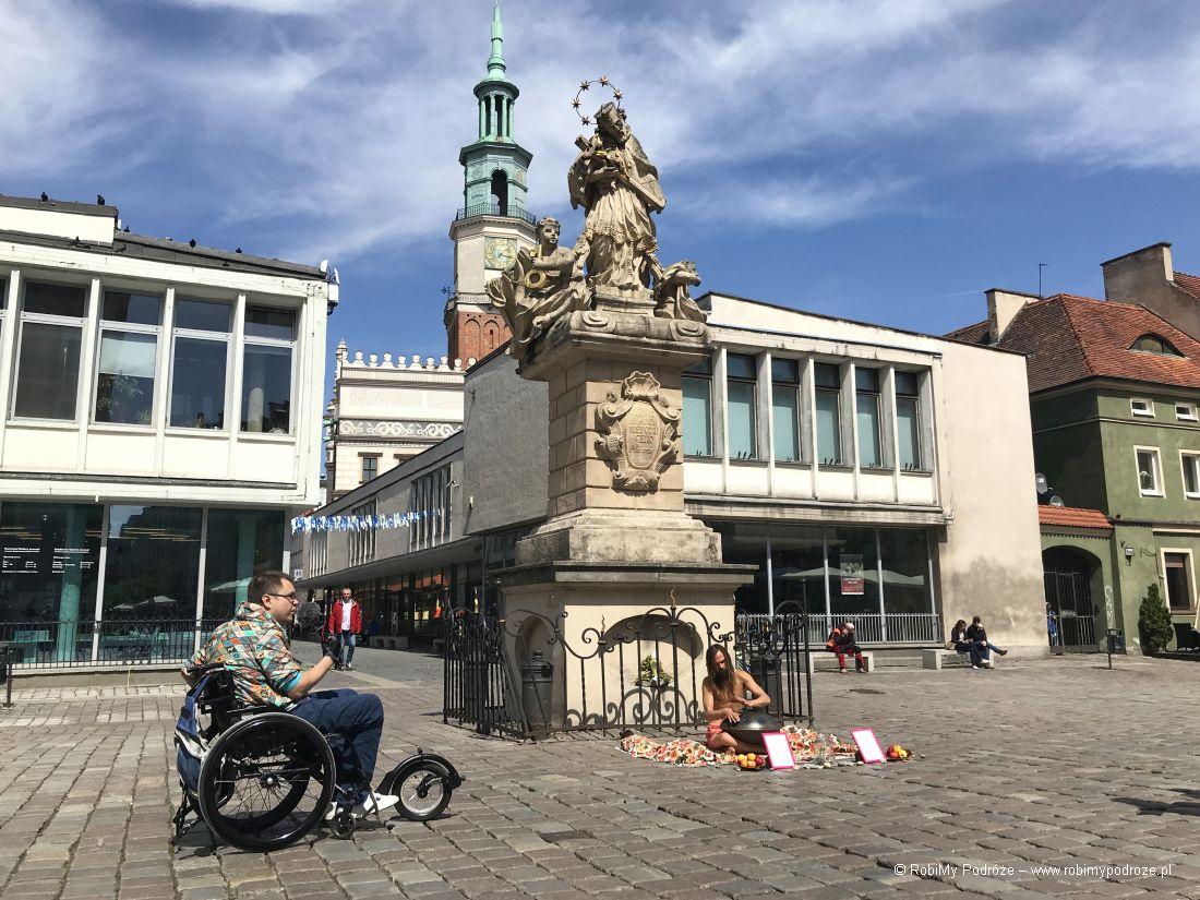 pomnik Jana Nepomucena Poznań wkilka godzin