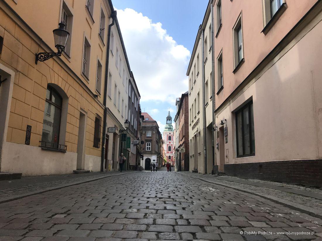 uliczki Poznania