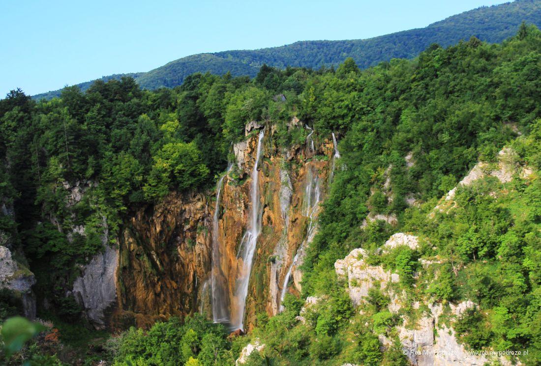 vieliki slkap w Chorwacji