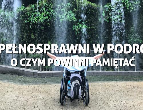 Niepełnosprawni wpodróży – oczym powinni pamiętać