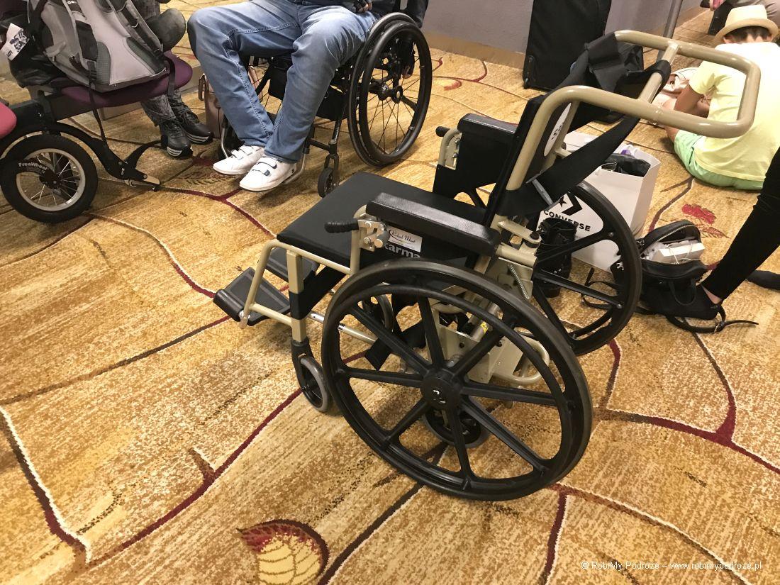 Niepełnosprawni wpodróży - sprzęt