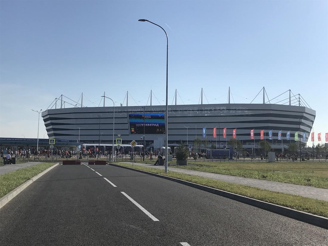 Stadion wKaliningradzie