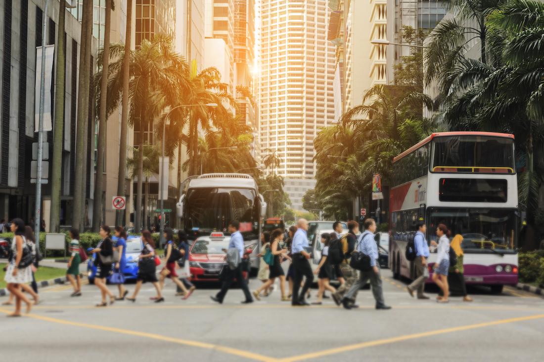 komunikacja w Singapurze