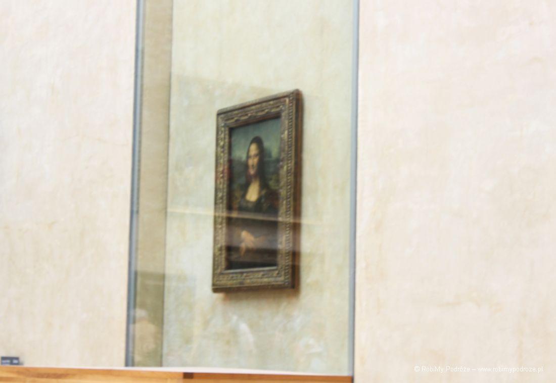 wiedzieć oParyżu - Mona Liza