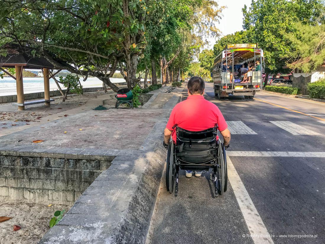 niepełnosprawny wTajlandii