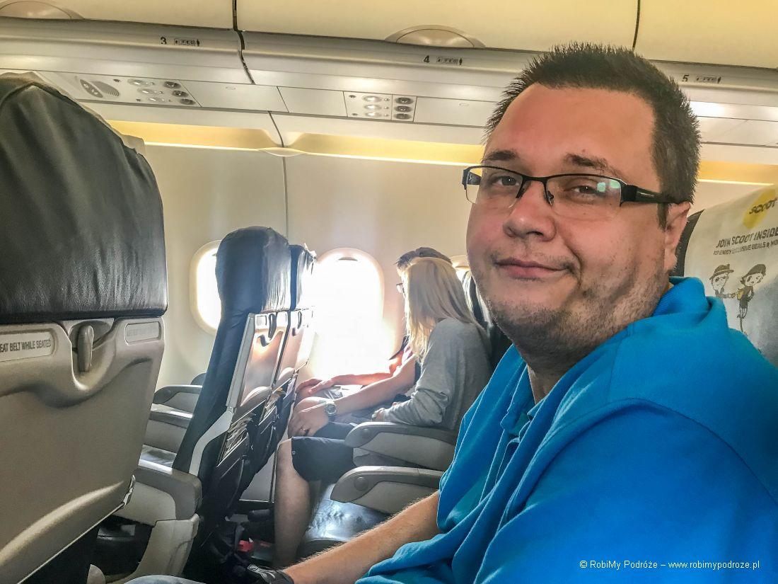 podróż doTajlandii – samolot