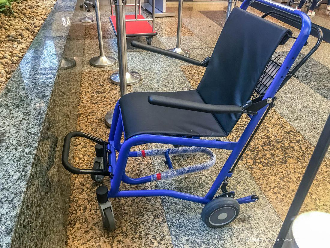 wózek lotniskowy dla niepełnosprawnych