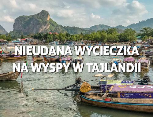 Nieudana wycieczka nawyspy wTajlandii