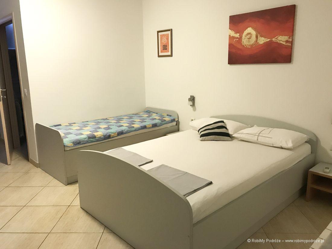 Apartments Villa Bubi wChorwacji - pokój