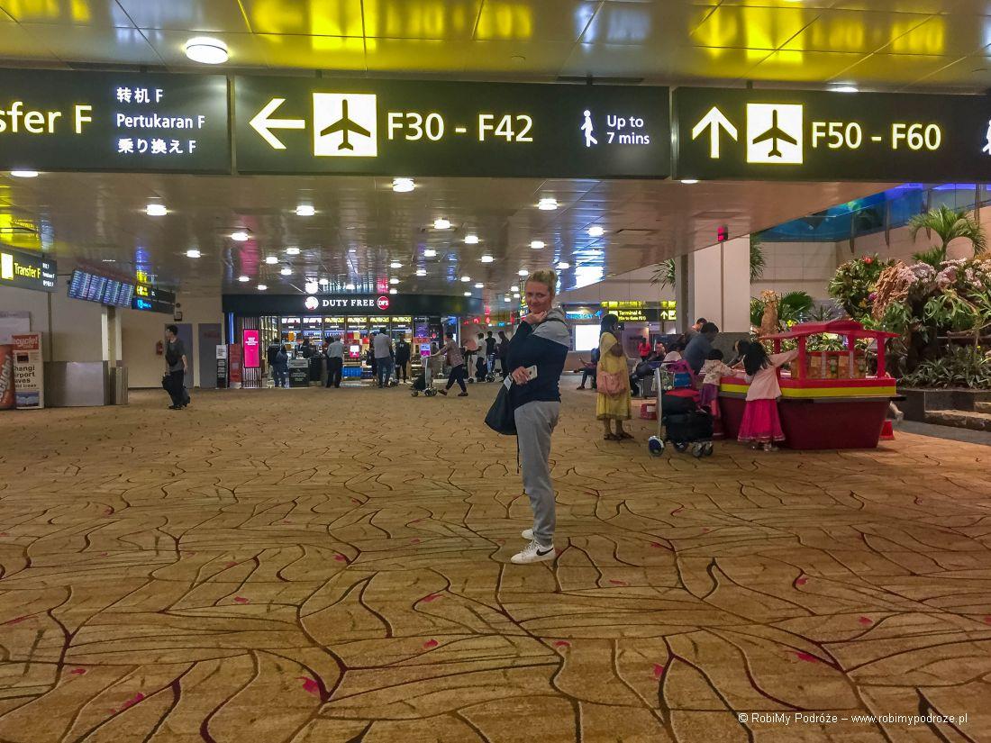 Changi Airport wSingapurze