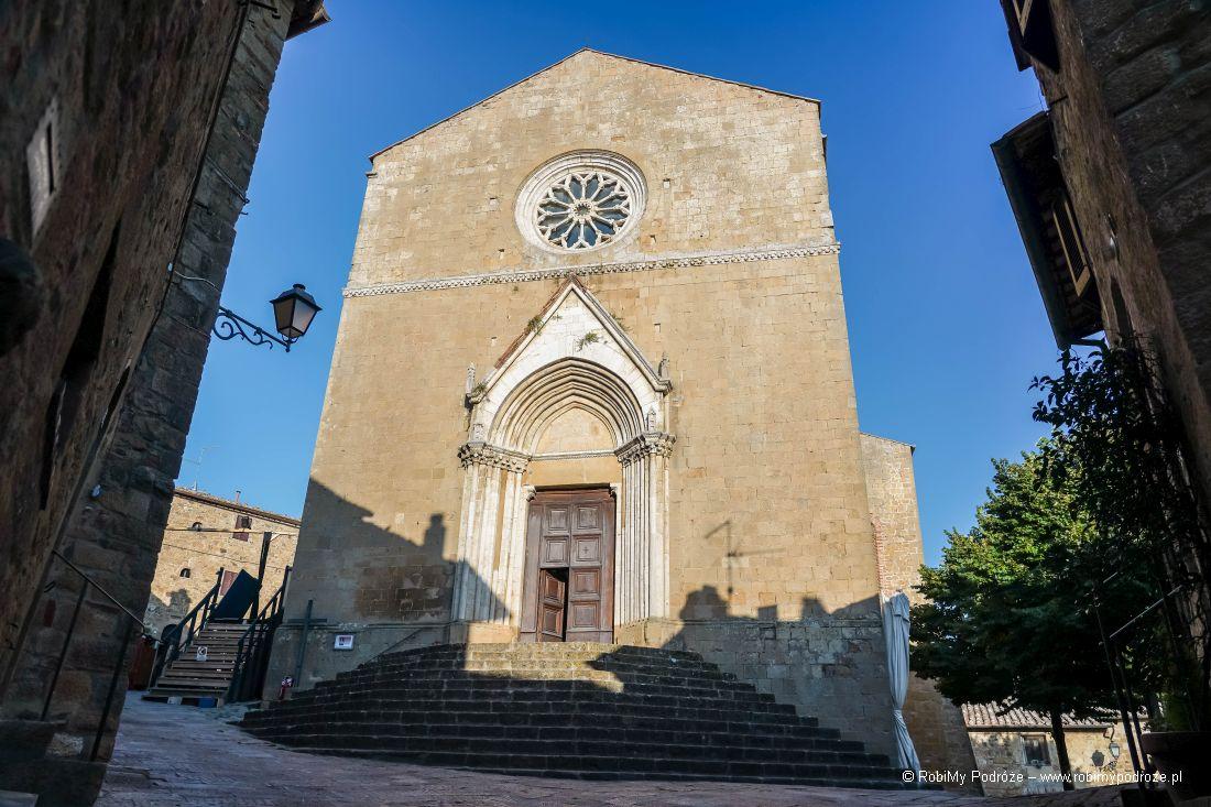 Kościół św Leonarda iKrzysztofa wMonticchiello