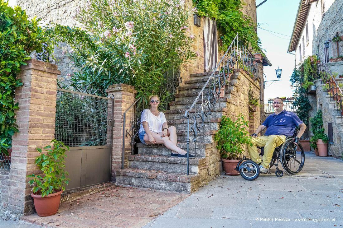 Monticchiello dla niepełnosprawnych