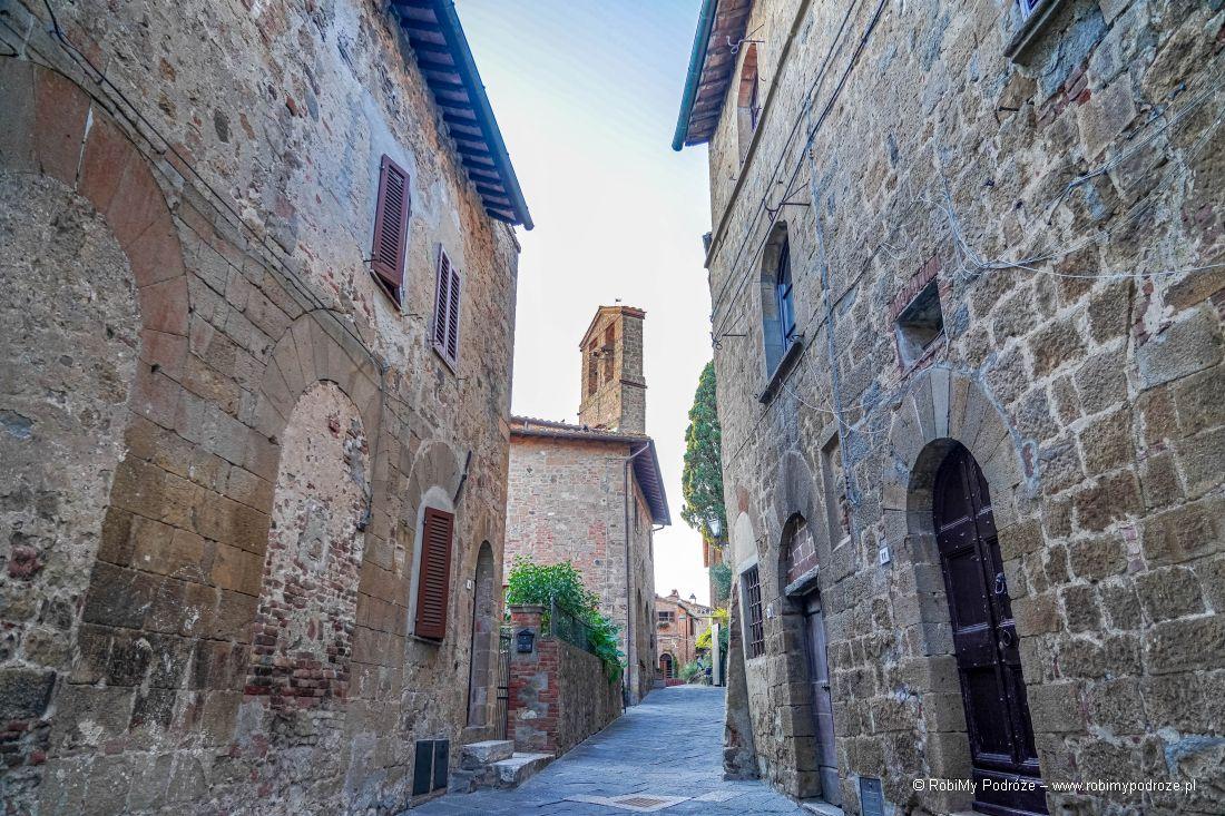 klimatyczne Monticchiello wToskanii Atrakcje Toskanii