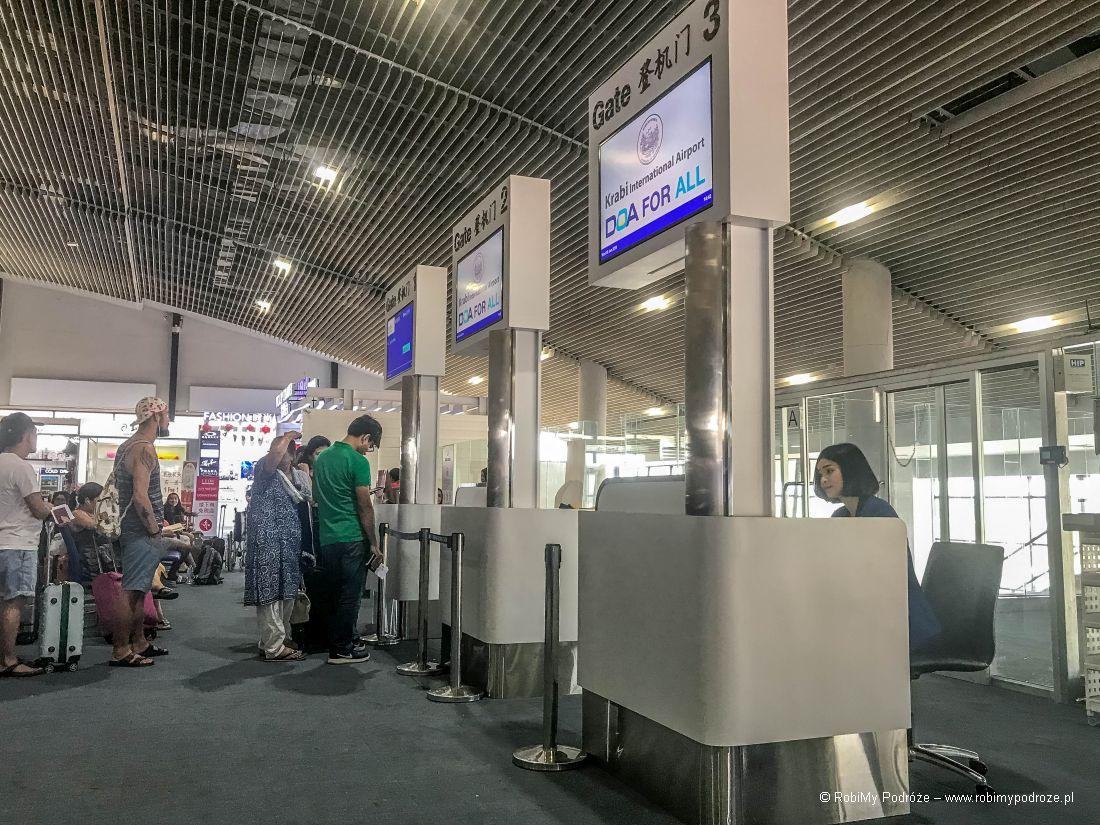 lotnisko wKrabi
