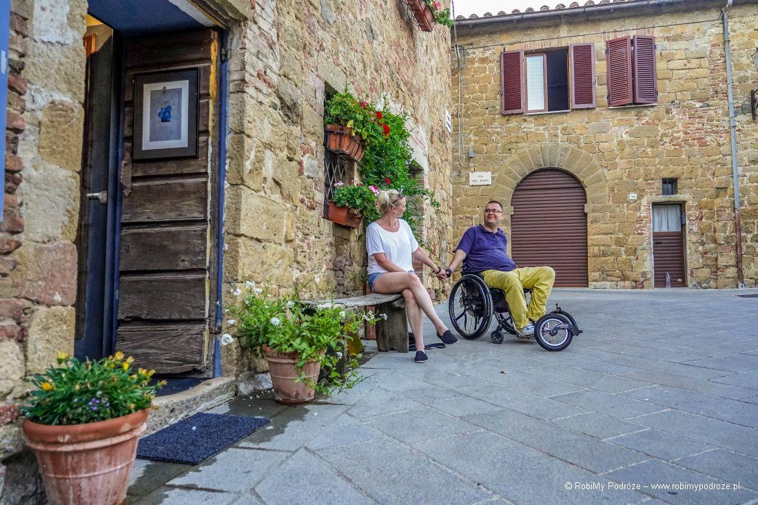 my iatrakcje Toskanii wMonticchiello