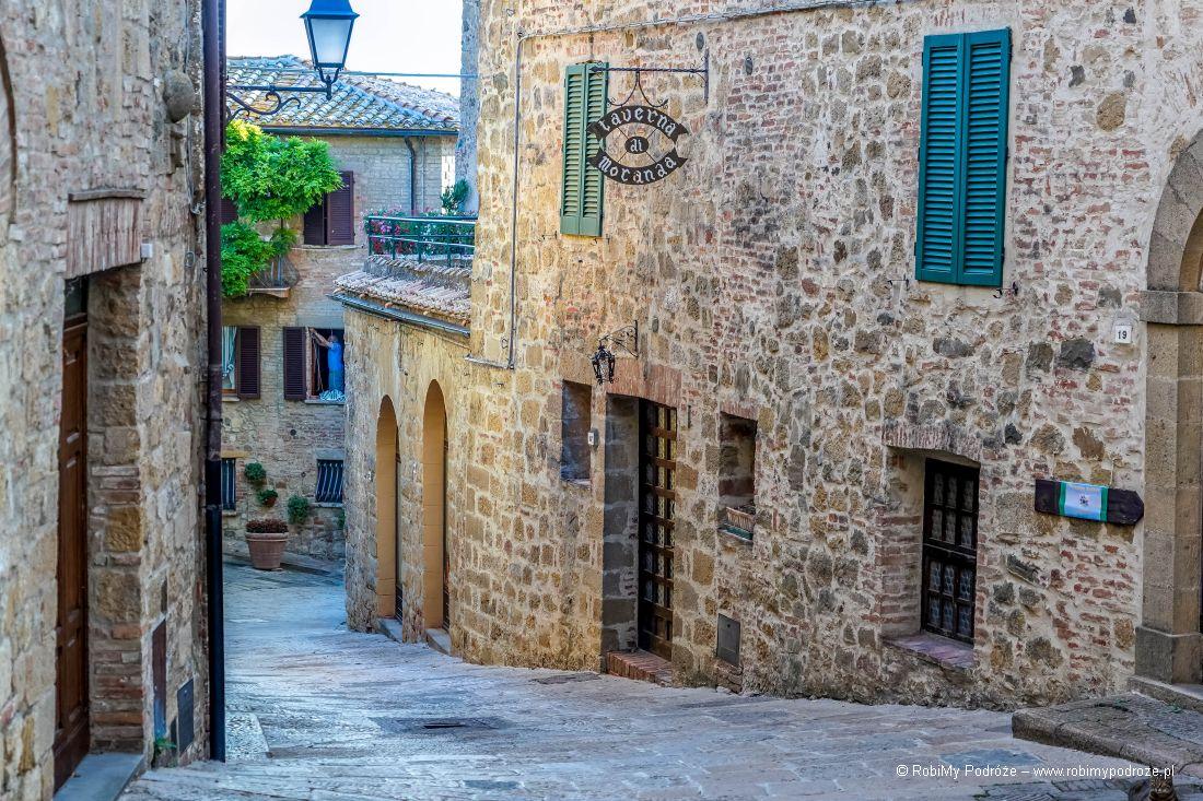 uliczki Monticchiello