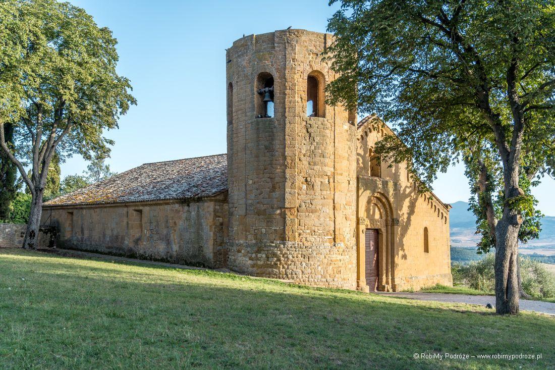 La Pieve di Corsignano – Pienza wToskanii