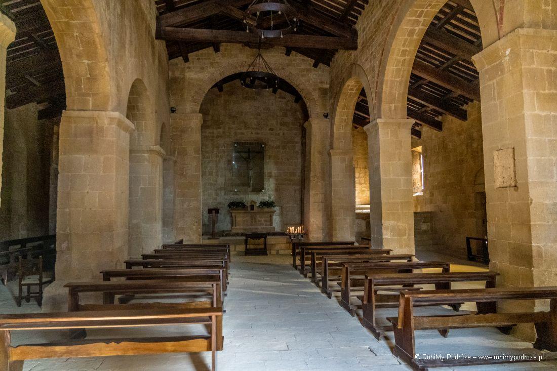 wnętrze kościoła San Vito e Modesto