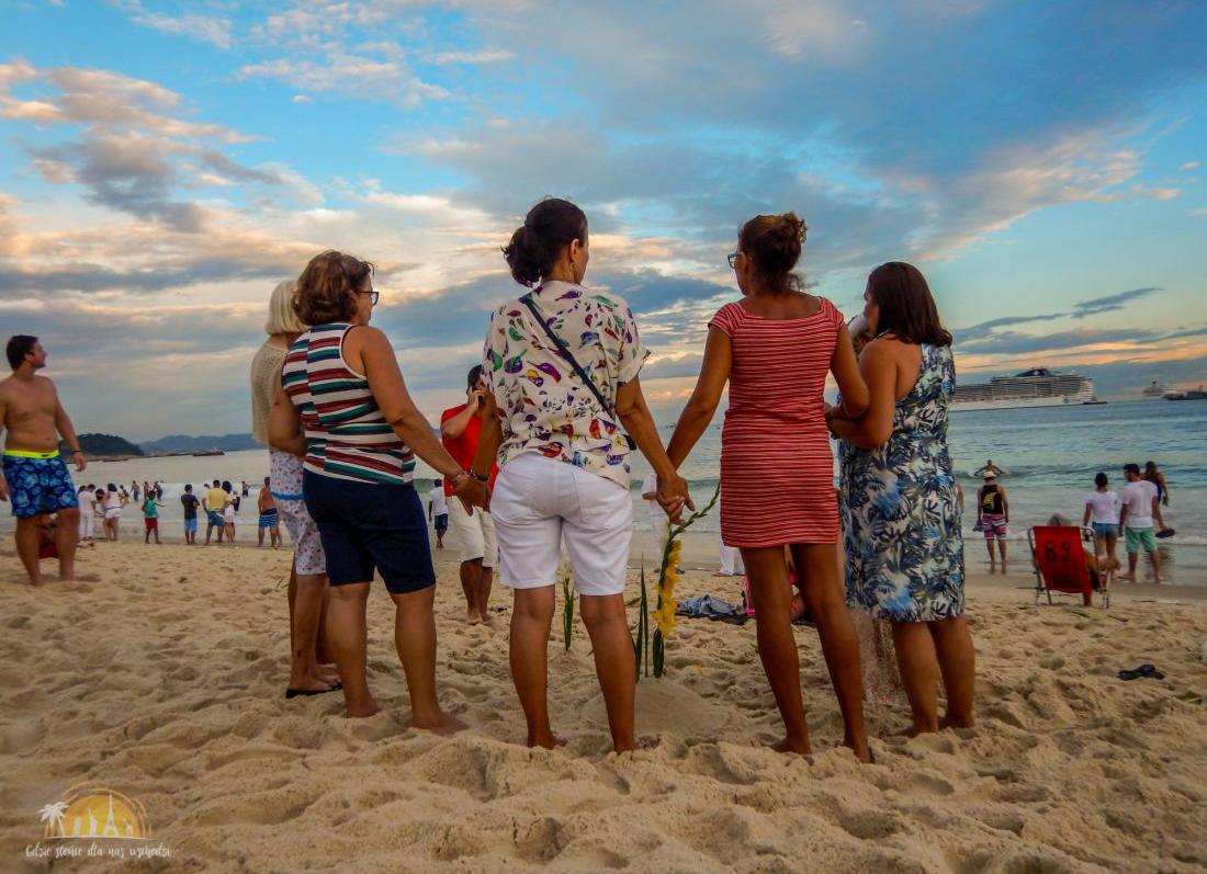 na wakację wzimę - brazylia