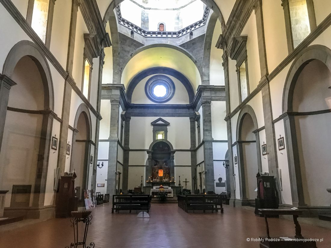 Santa Madonna delle Grazie al Calcinaio - wnętrze