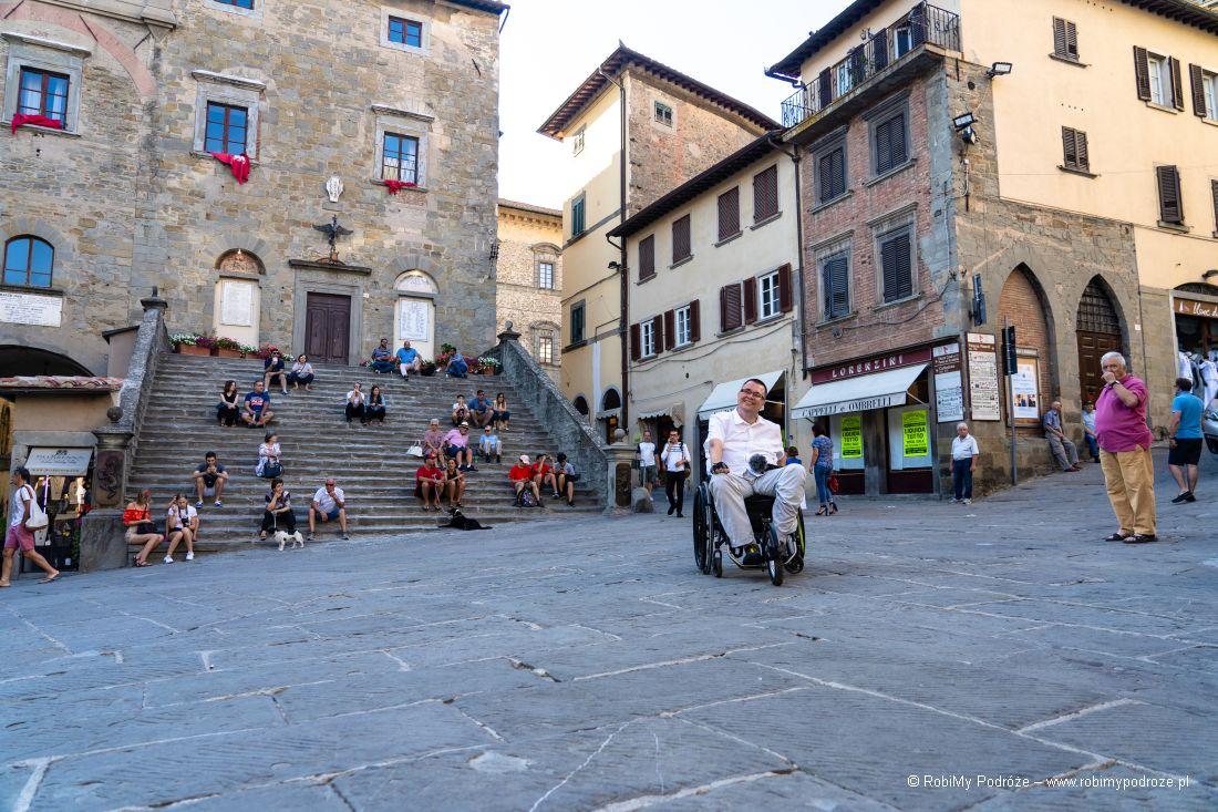 Schody Palazzo Comunale cortona