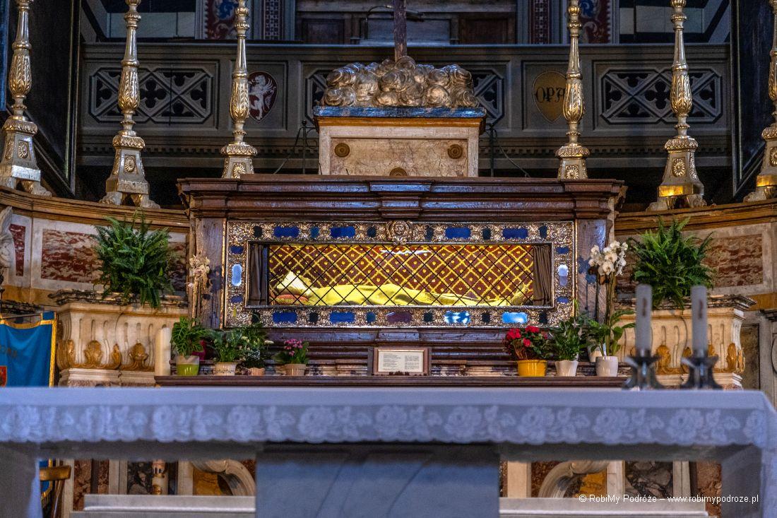 Szczątki św.Małgorzaty wCortonie