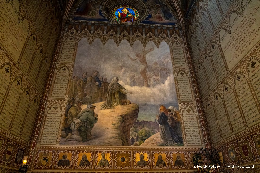 basilica Santa Margherita - freski