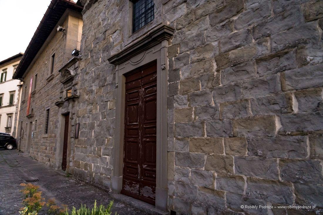 muzeum przy Duomo Santa Maria assunta cortona