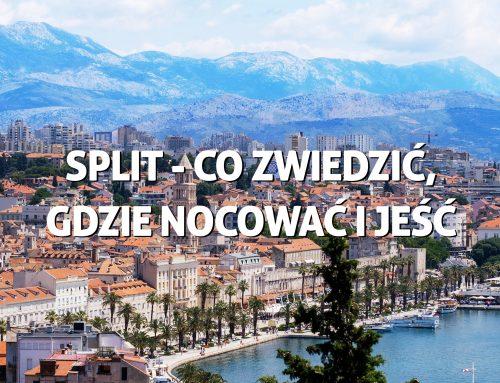 Split – co zwiedzić, gdzie nocować igdzie zjeść