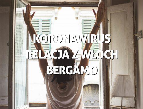 Koronawirus. Relacja zWłoch, Bergamo – RobiMy Podróże Tonight Podcast #4