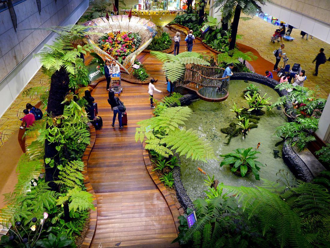 Singapur co zwiedzać - Lotnisko Changi