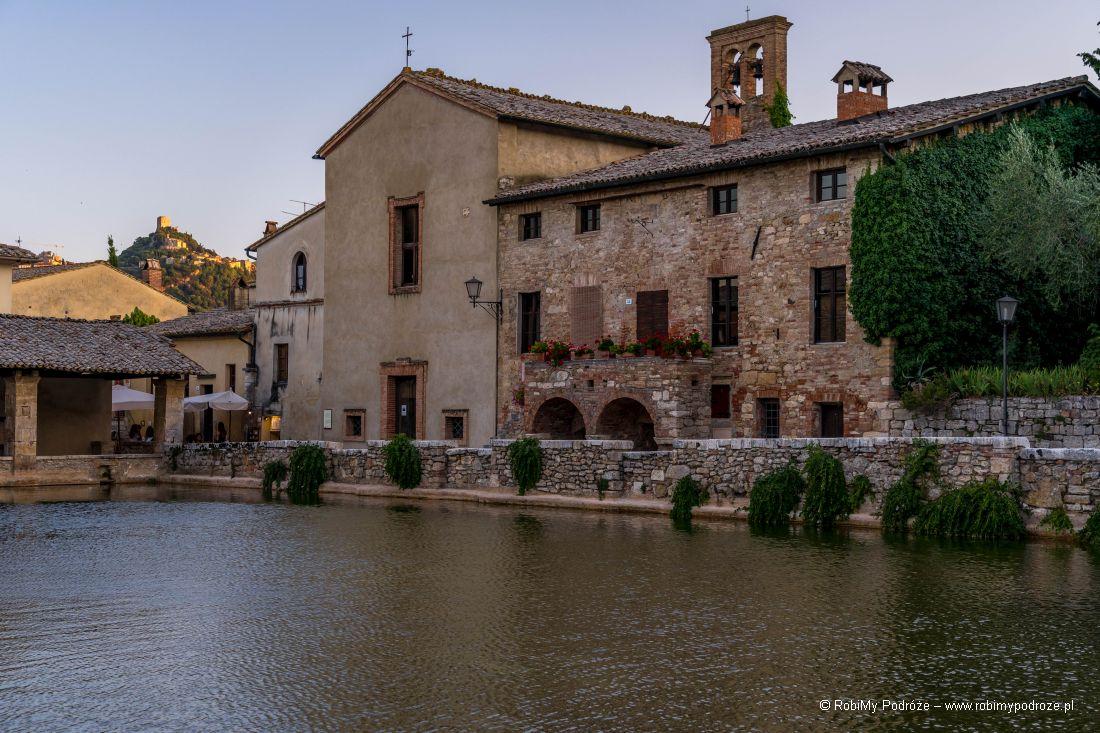 kościół Santa Caterina wBagno Vignoni