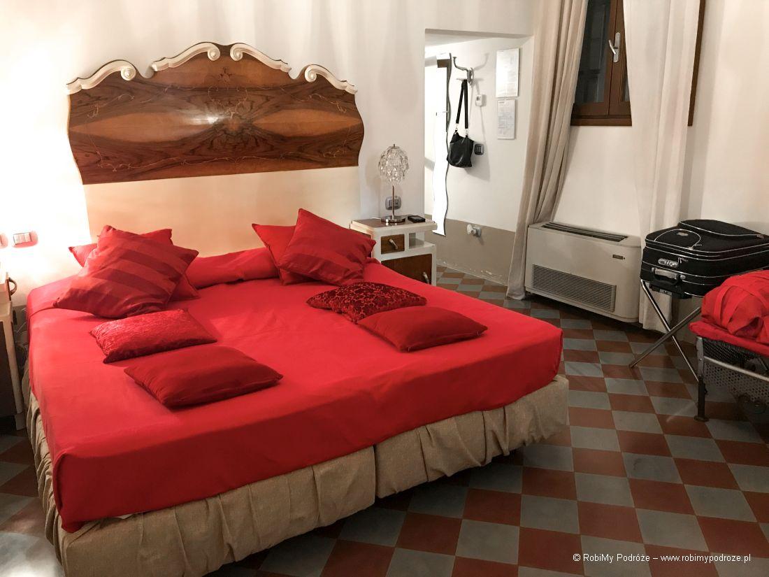 ART HOTEL AL FAGIANO PADWA sypialnia