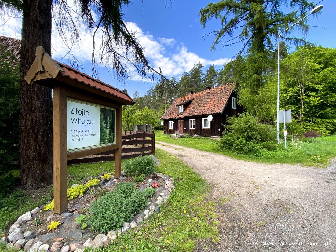 Nowa Wieś drewniana architektura