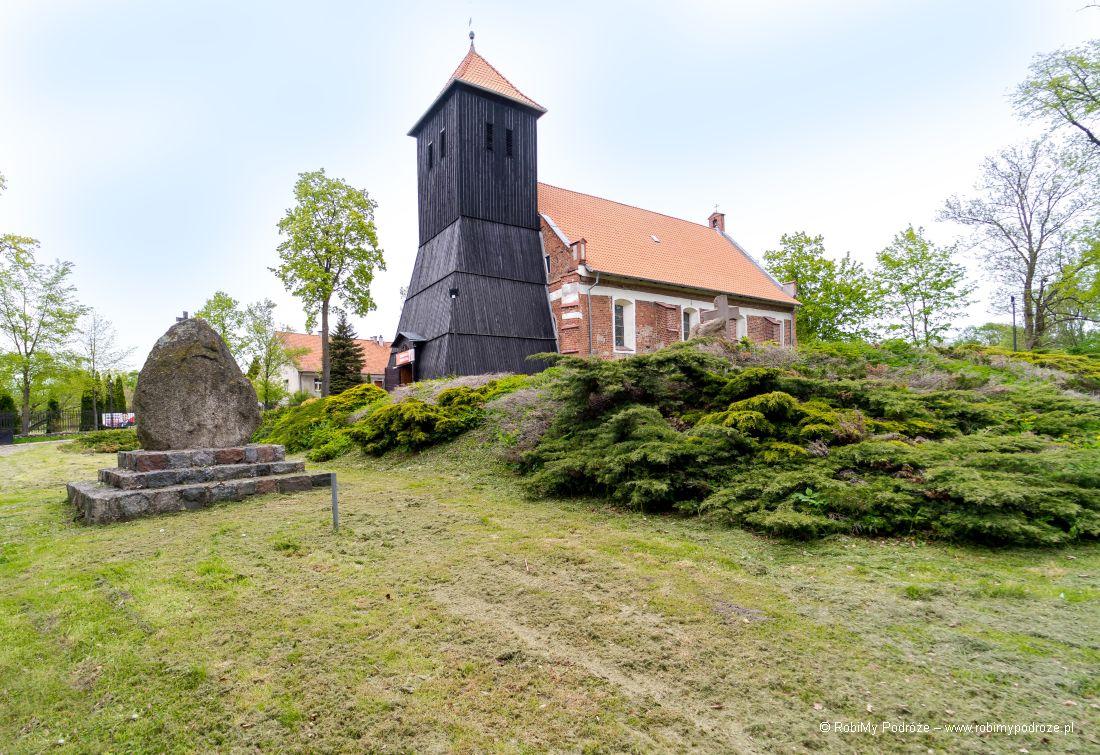 kościół drewniany wKlewkach