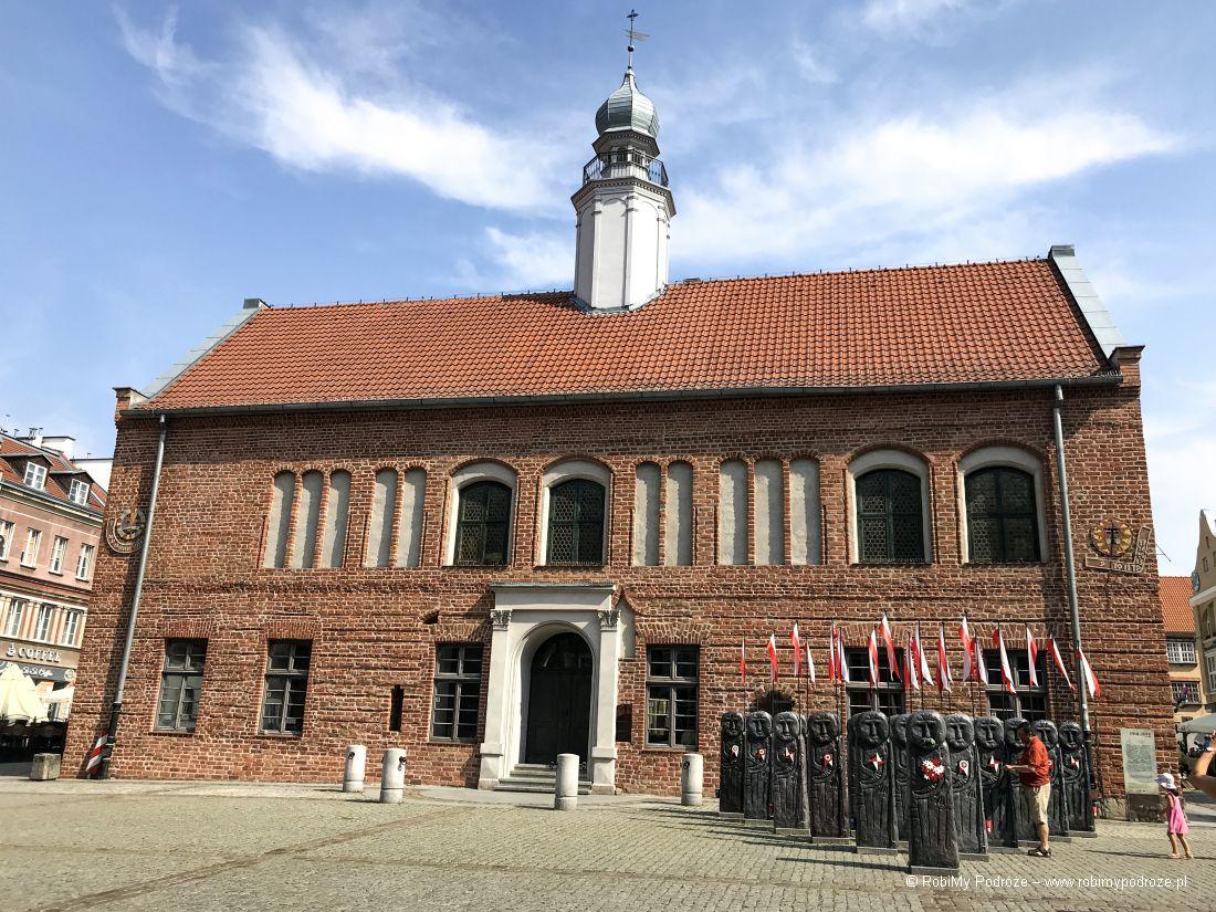 w Olsztynie można zobaczyć Stary Ratusz