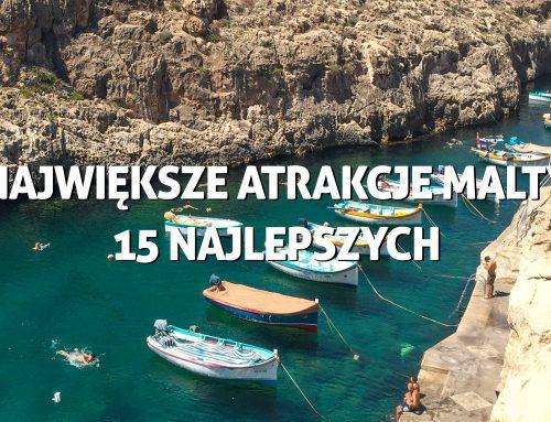 Największe atrakcje Malty – 15 najlepszych, wartych odwiedzenia