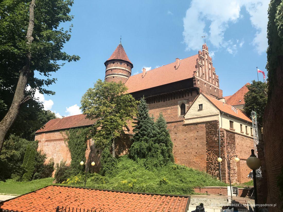 Zamek Krzyżacki wOlsztynie