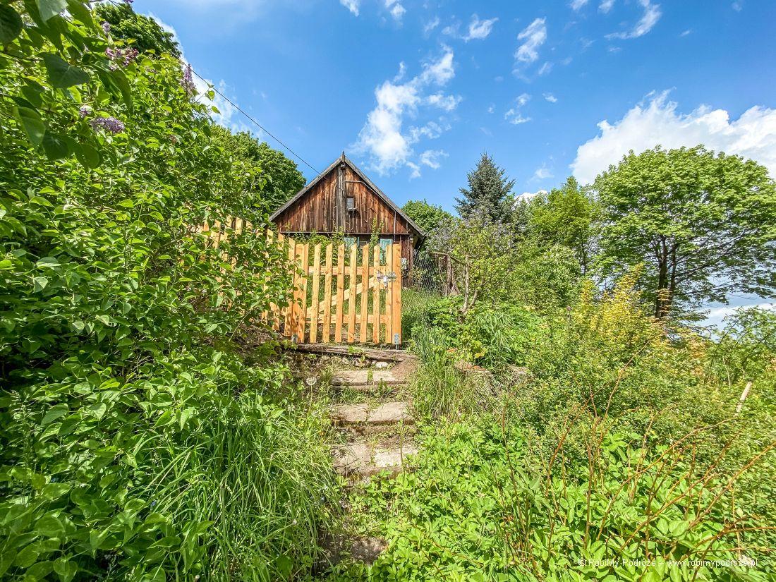 drewniane warmińskie domy wRusi