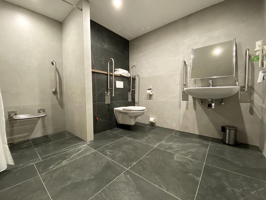 łazienka whotelu Ibis
