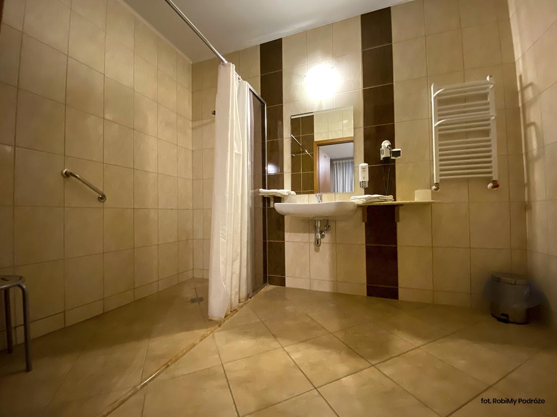 łazienka whotelu wAugustowie